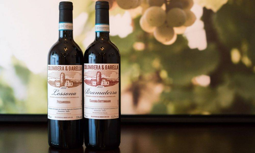 The wines of Colombera & Garella ©Kevin Day/Opening a Bottle