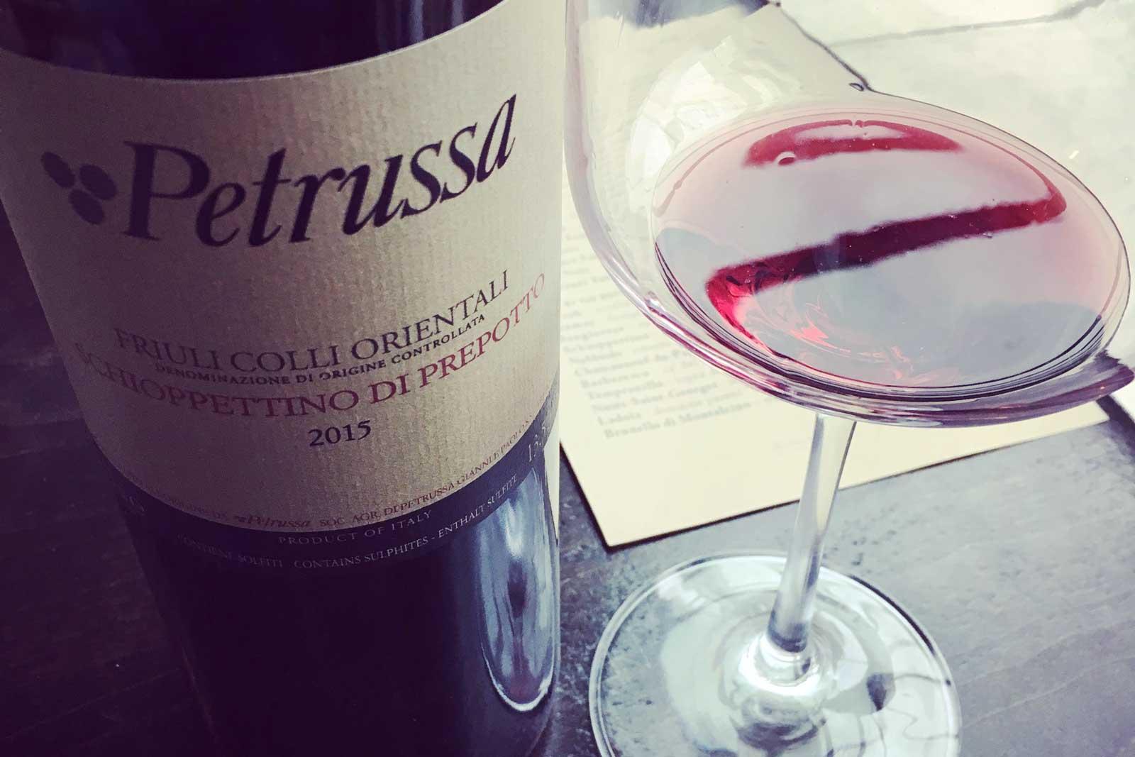 2015 Petrussa Friuli Colli Orientali Schioppettino di Prepotto