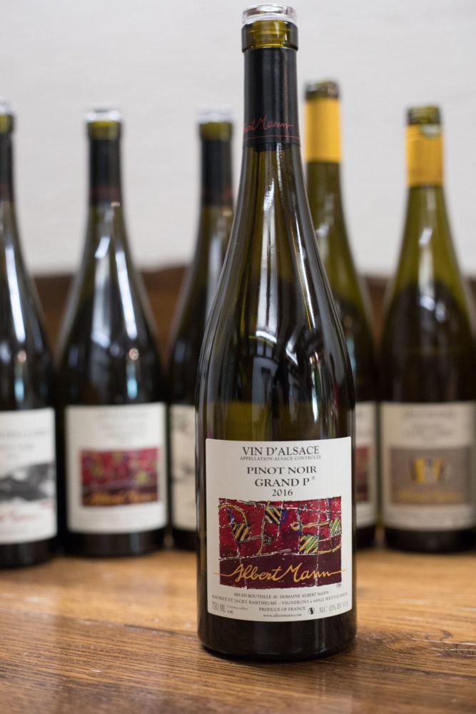 Domaine Albert Mann Pinot Noir. ©Kevin Day/Opening a Bottle