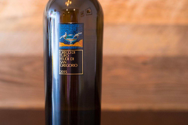 2015 Feudi di San Gregorio Greco di Tufo ©Kevin Day/Opening a Bottle