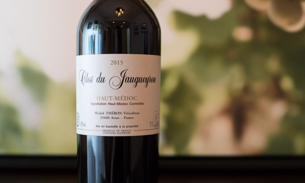 2015 Clos du Jaugueyron Haut–Médoc ©Kevin Day/Opening a Bottle