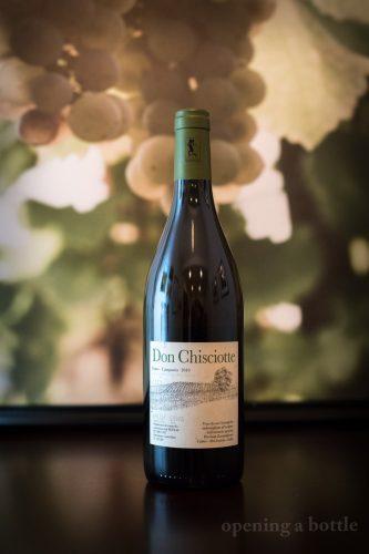"""2010 Pierluigi Zampaglione """"Don Chisciotte"""" Fiano Campagna ©Kevin Day/Opening a Bottle"""