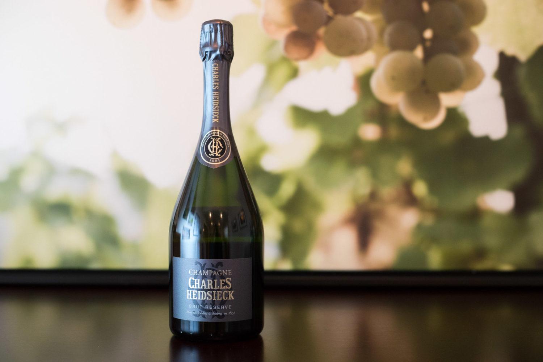 Non-Vintage Charles Heidsieck Champagne Brut Réserve ©Kevin Day/Opening a Bottle