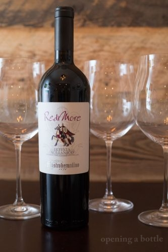 "2014 Mastroberardino ""Redimore"" Irpinia Aglianico ©Kevin Day/Opening a Bottle"