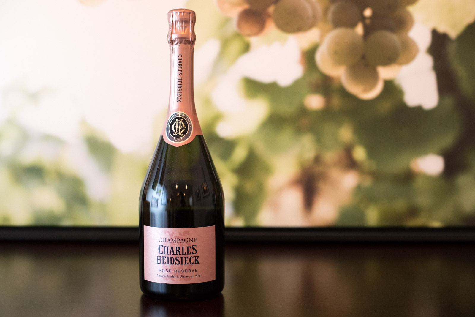NV Charles Heidsieck Rosé Reserve Champagne ©Kevin Day/Opening a Bottle