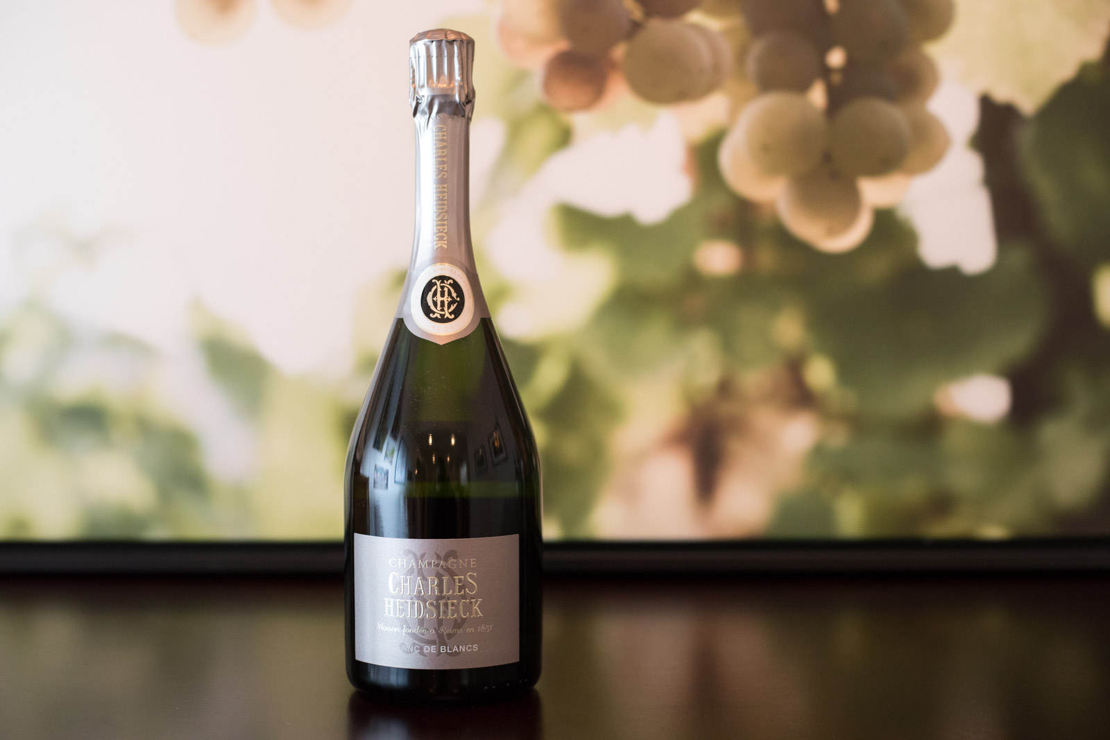 NV Charles Heidsieck Blanc de Blanc Champagne ©Kevin Day/Opening a Bottle