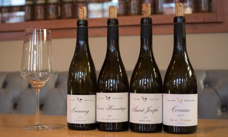 The wines of Julien Cécillon. ©Kevin Day/Opening a Bottle