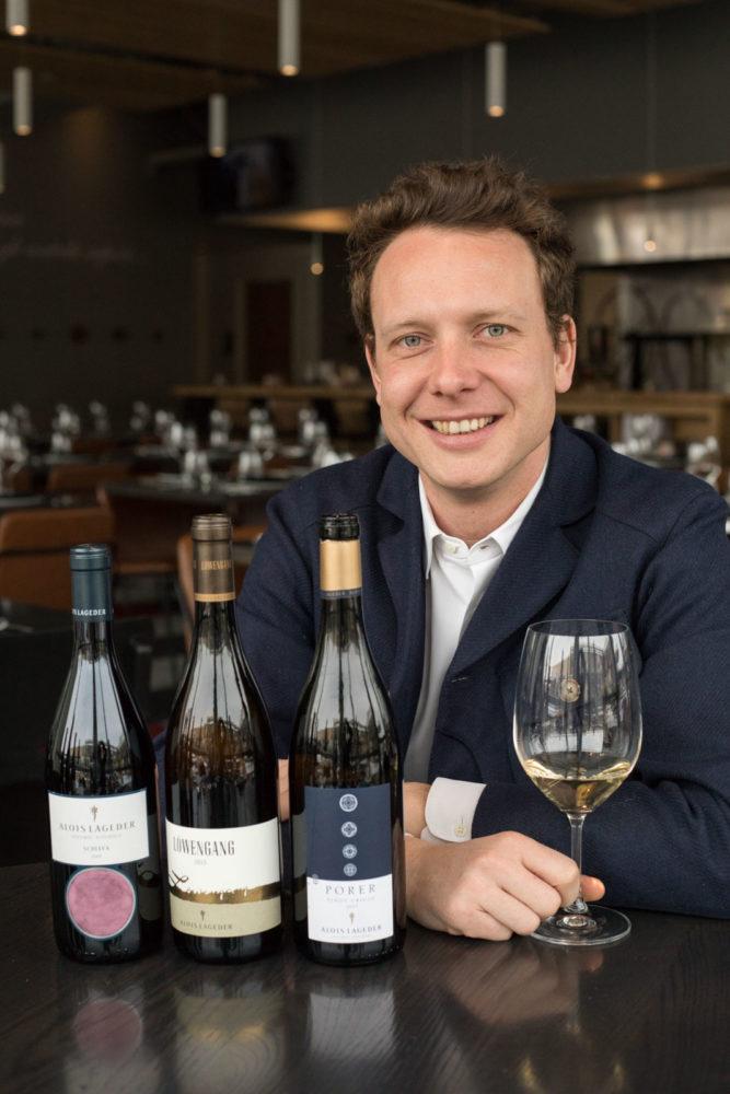 Alois Clemens Lageder of the Alto Adige estate Alois Lageder ©Kevin Day/Opening a Bottle