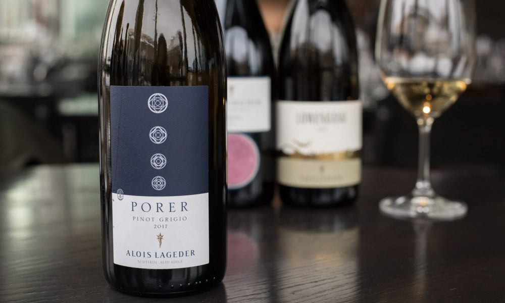 2017 Alois Lageder Porer Pinot Grigio ©Kevin Day/Opening a Bottle