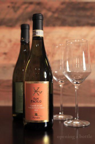 """2013 Pievalta """"San Paolo"""" Castelli di Jesi Verdicchio Riserva ©Kevin Day/Opening a Bottle"""