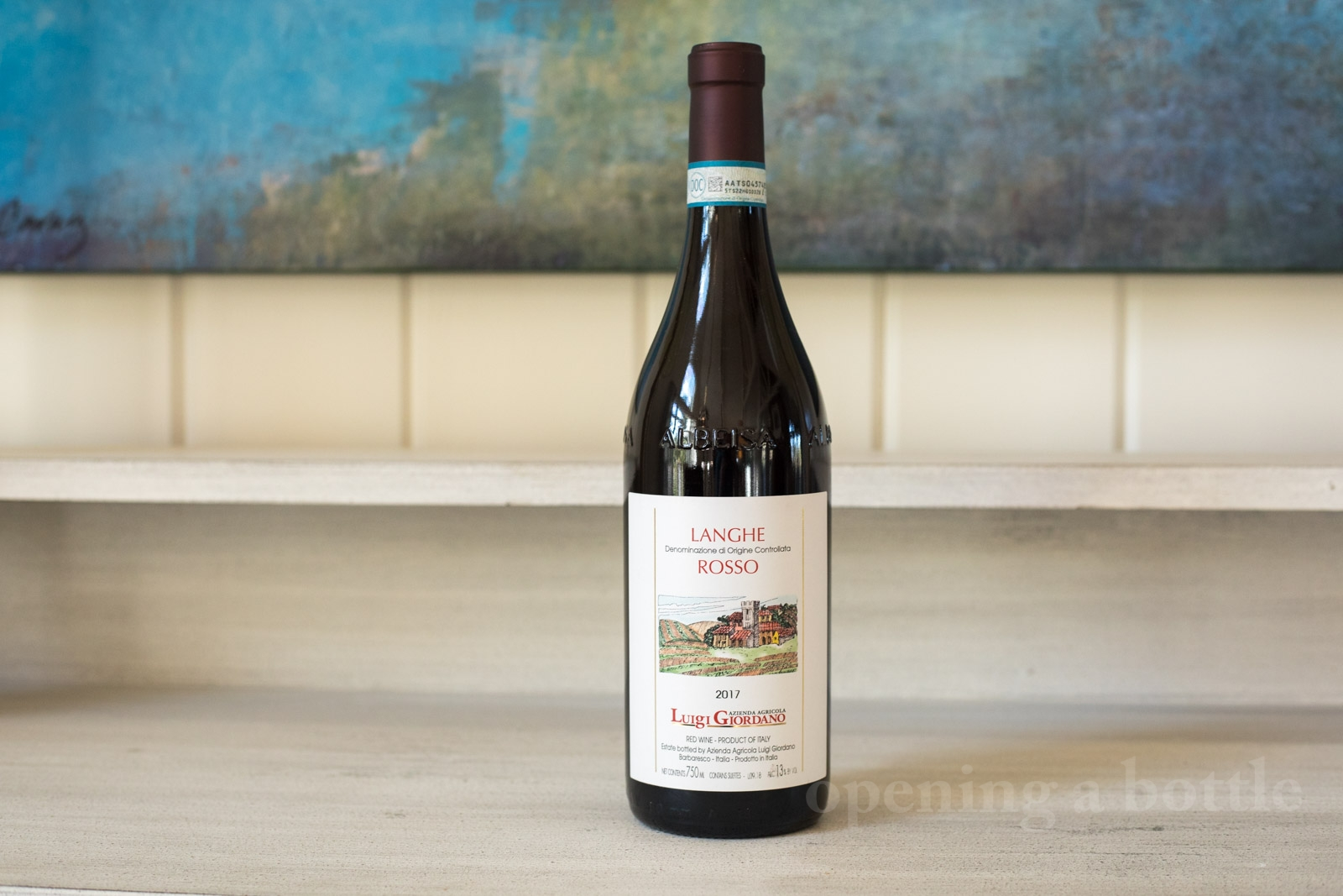 2017 Luigi Giordano Langhe Rosso ©Kevin Day/Opening a Bottle