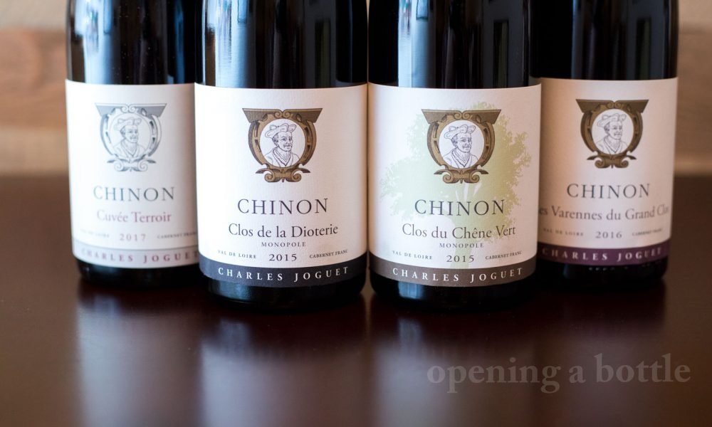 The wines of Charles Joguet ©Kevin Day/Opening a Bottle