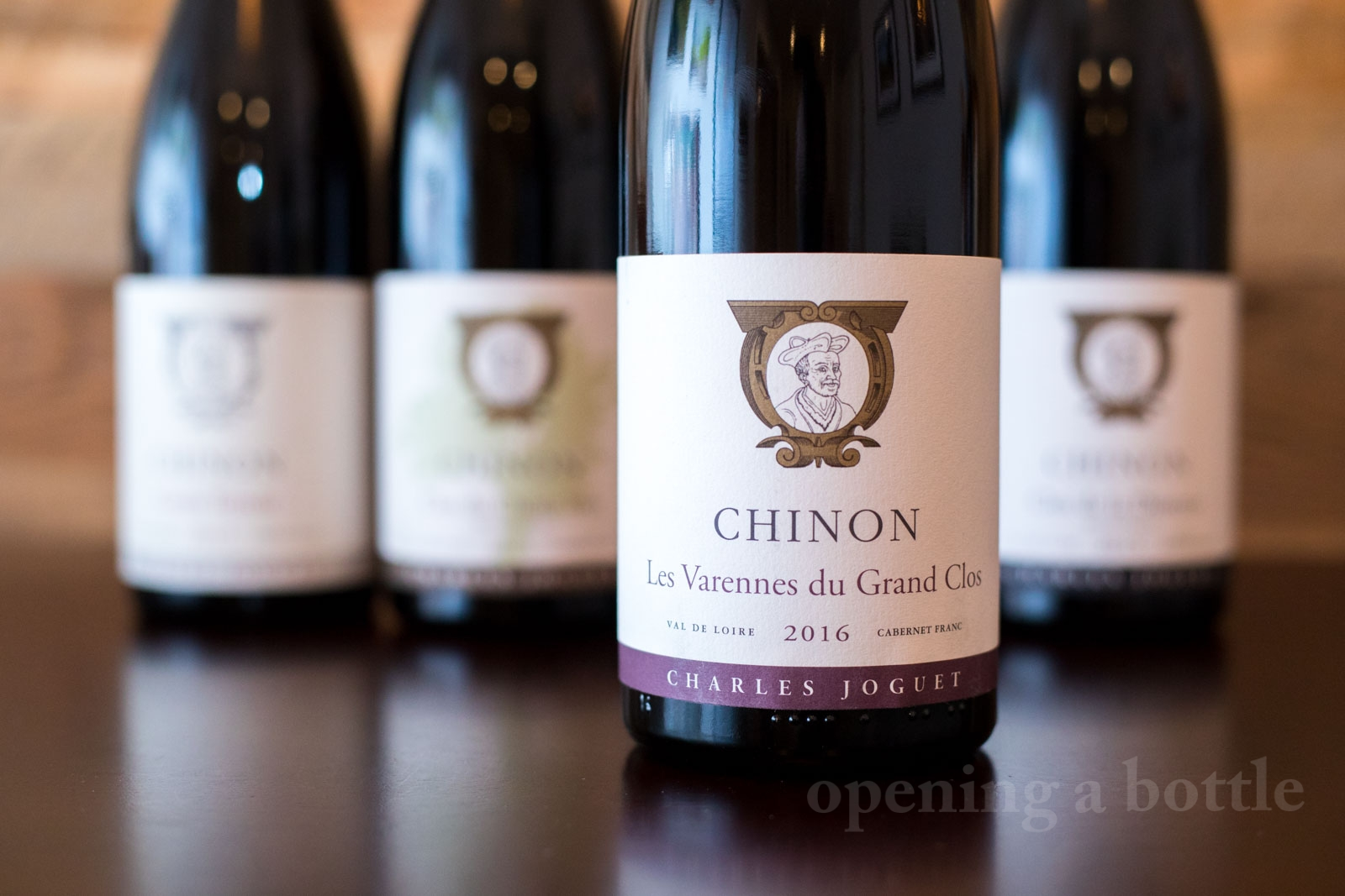 2016 Charles Joguet Les Varennes du Grand Clos Chinon ©Kevin Day/Opening a Bottle