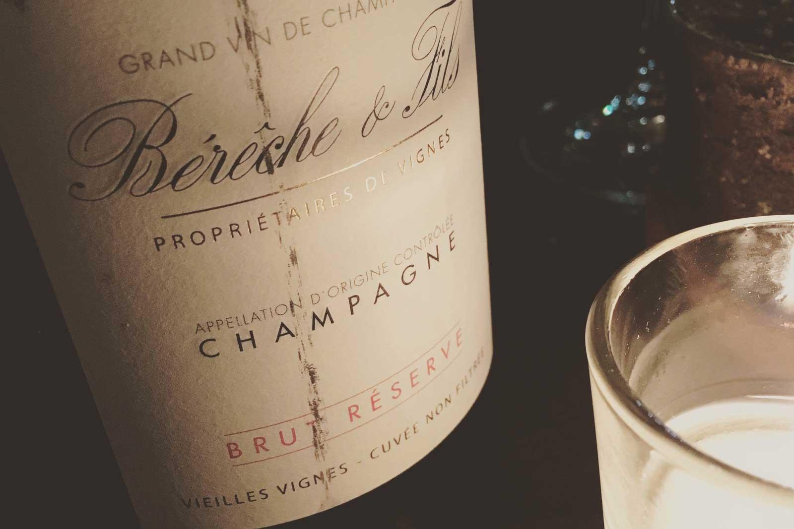 NV Bérêche & Fils Brut Réserve Vieilles Vignes Champagne ©Kevin Day/Opening a Bottle