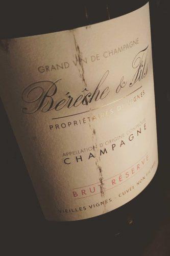 NV Bérêche & Fils Champagne Brut Réserve Vieilles Vignes ©Kevin Day/Opening a Bottle