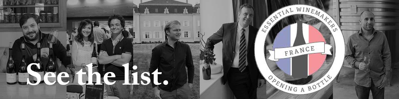 Essential Winemakers of France ©Opening a Bottle