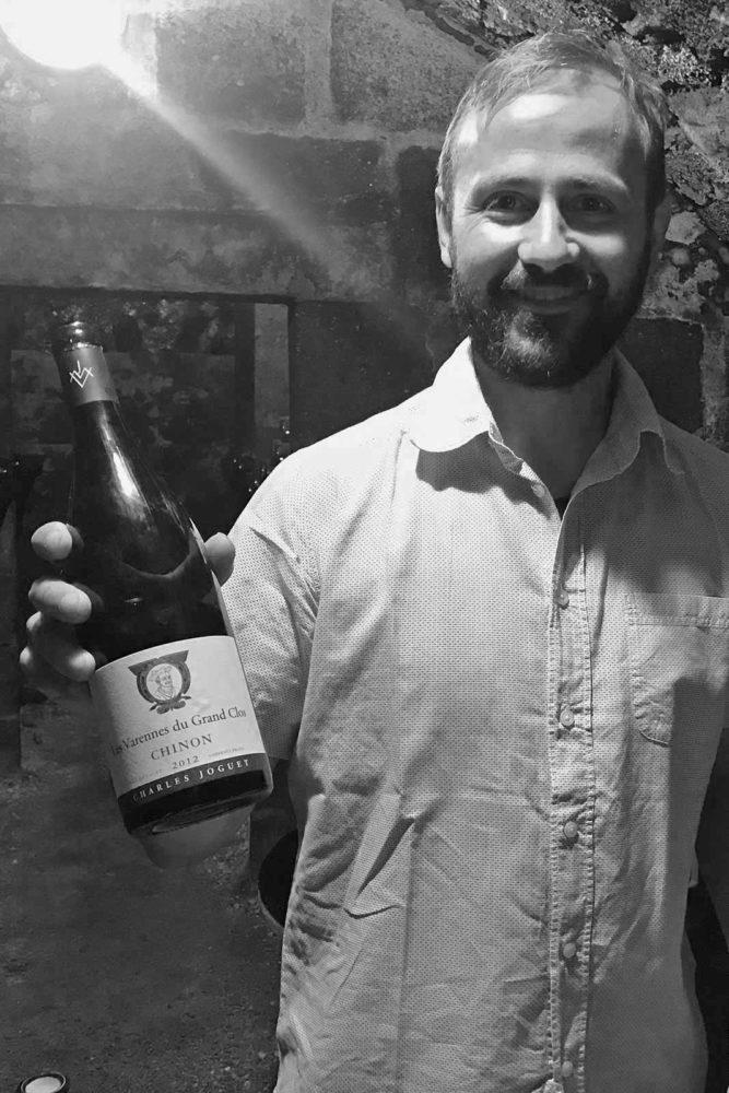 Winemaker Kevin Fontaine. ©Kermit Lynch Wine Merchants