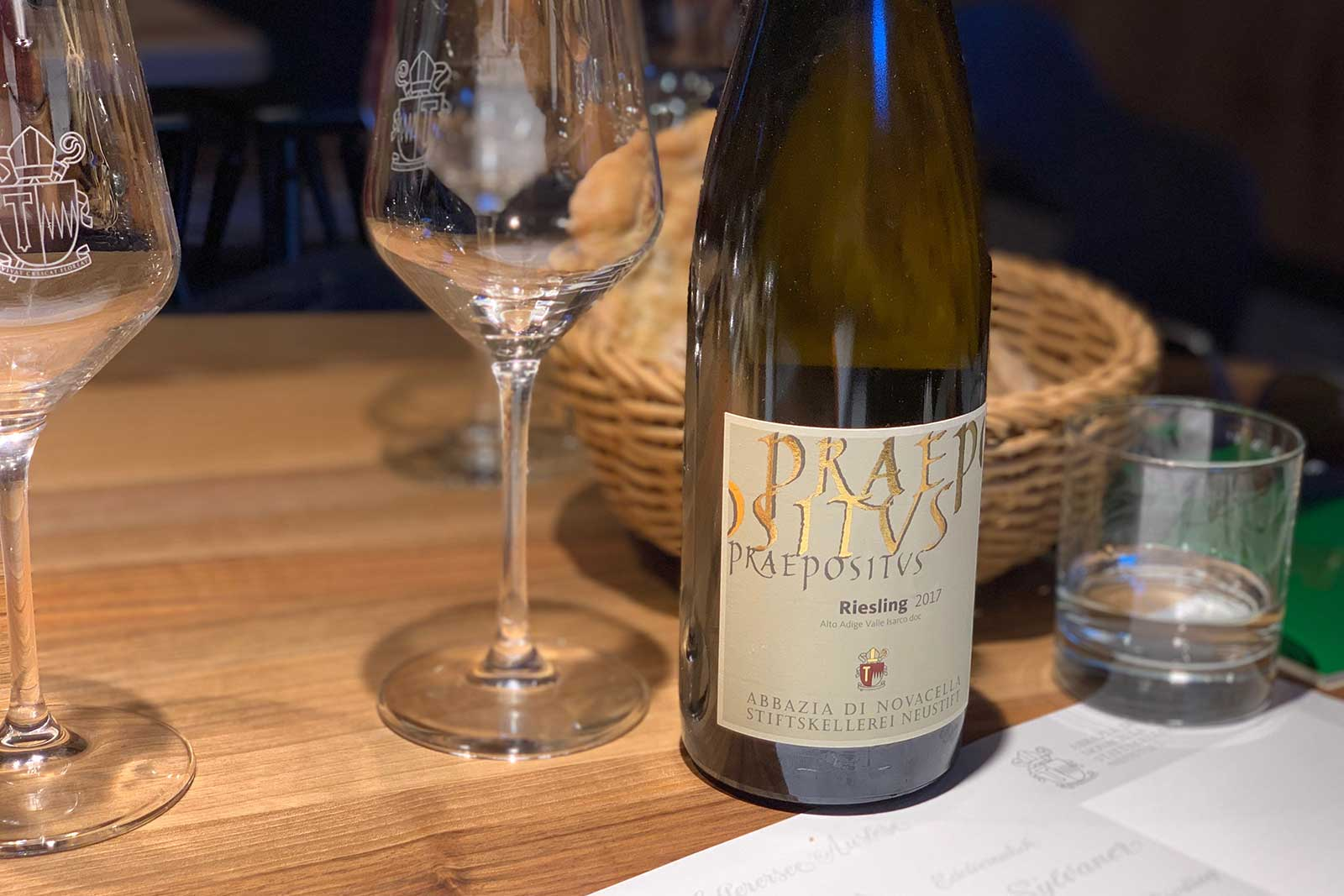 The 2017 Praepositus Riesling is a fruity, full and racy Riesling defined by peach- and hay-like aromas. ©Kevin Day/Opening a Bottle