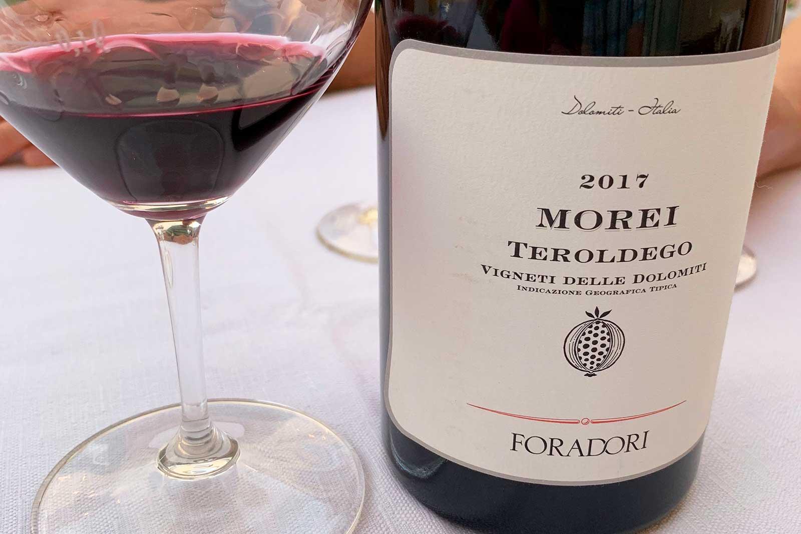 2017 Foradori Morei Teroldego ©Kevin Day/Opening a Bottle