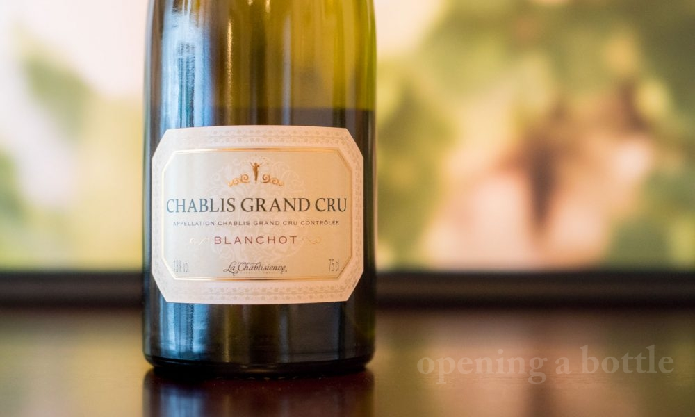 2014 La Chablisienne Grand Cru Blanchot Chablis ©Kevin Day/Opening a Bottle