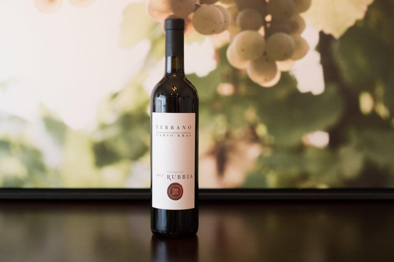 2013 Castello di Rubbia Terrano Carso-Kras – high acidity Italian wine ©Kevin Day/Opening a Bottle