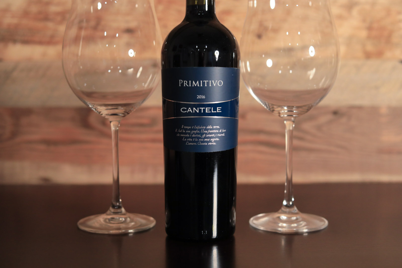 2015 Cantele Primitivo Salento ©Kevin Day/Opening a Bottle