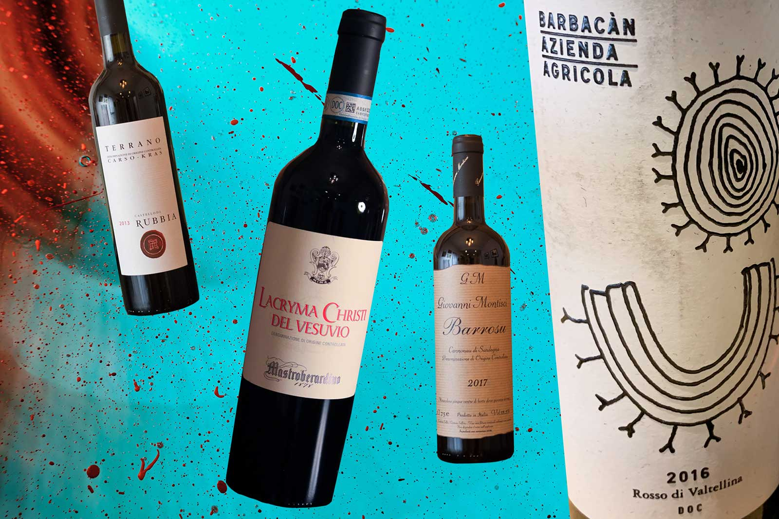 Italian Acid Trip: High-Acid Wines. Illustration by JR Korpa on Unsplash