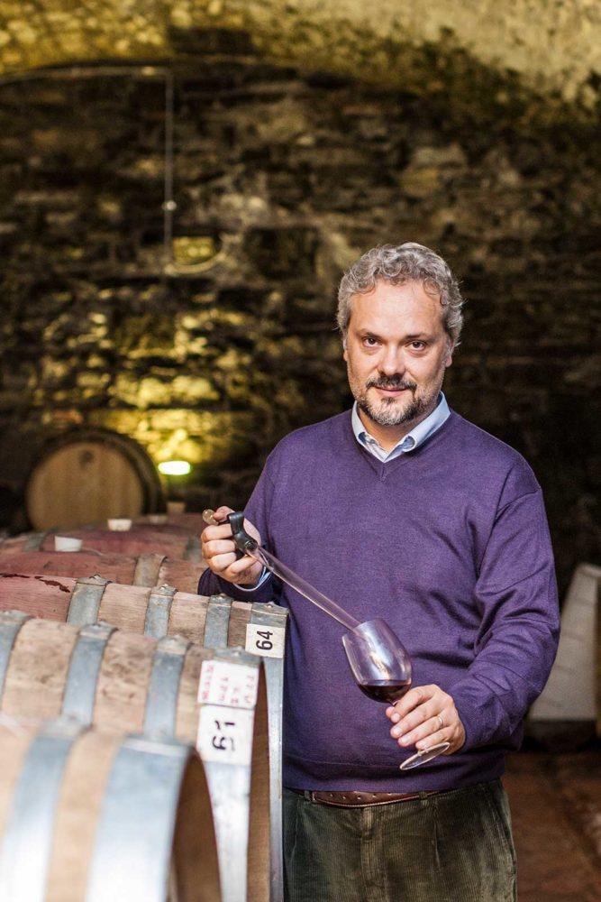 Winemaker Sebastiano Capponi of Villa Calcinaia. ©John Werich/Villa Calcinaia