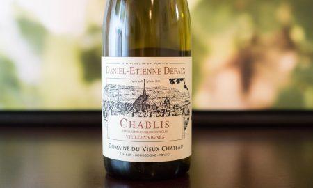 2014 Daniel-Etienne Defaix Chablis Vieilles Vignes ©Kevin Day/Opening a Bottle