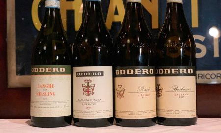 The wines of Oddero of La Morra, Italy. ©Kevin Day/Opening a Bottle