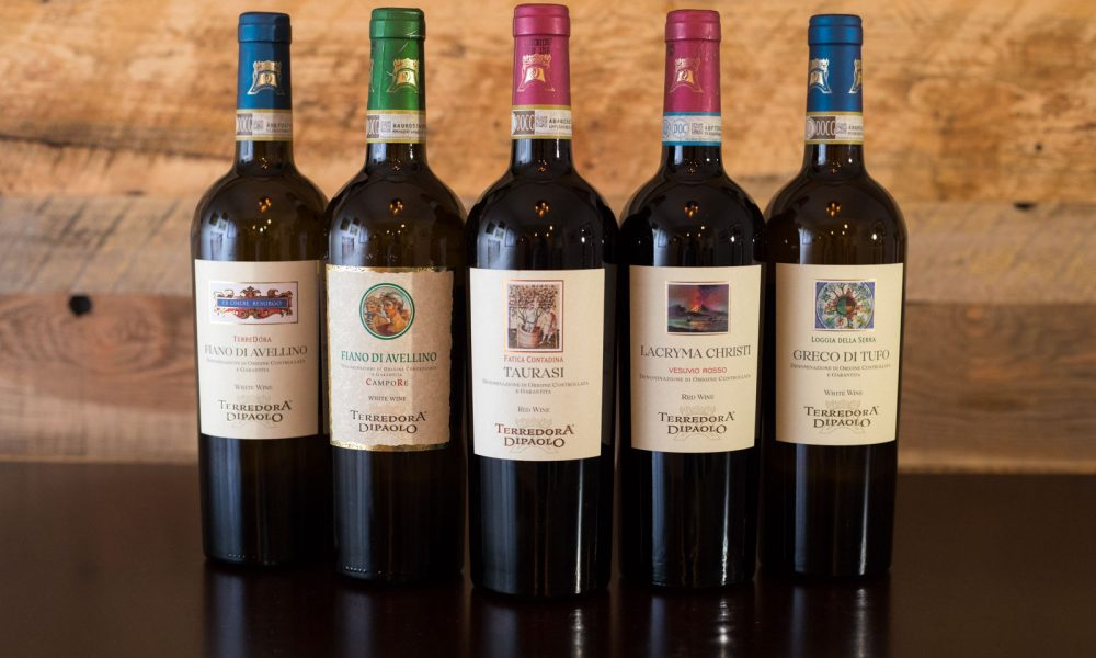 The wines of Terredora di Paolo of Campania Italy ©Kevin Day/Opening a Bottle