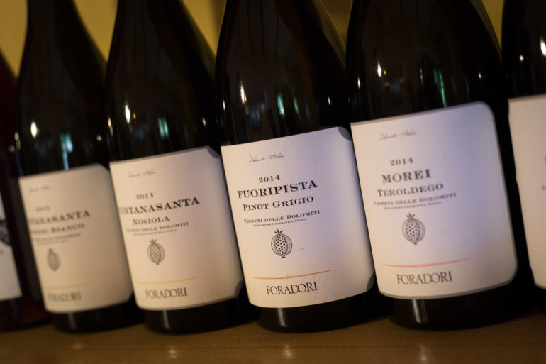 The wines of Foradori. ©Kevin Day/Opening a Bottle