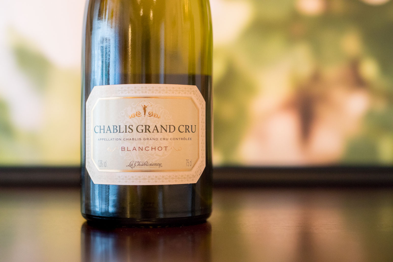 "2014 La Chablisienne ""Blanchot"" Chablis Grand Cru. ©Kevin Day/Opening a Bottle"