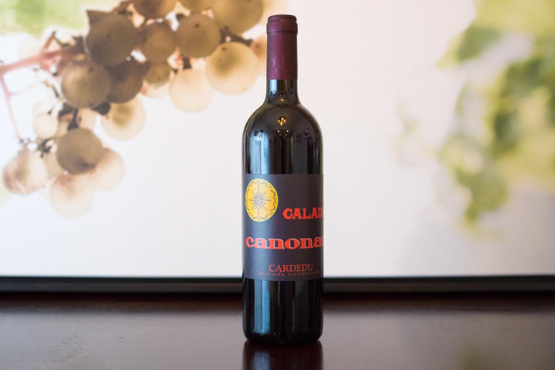 """2013 Cardedu """"Caladu"""" Canonnau di Sardegna. ©Kevin Day/Opening a Bottle"""