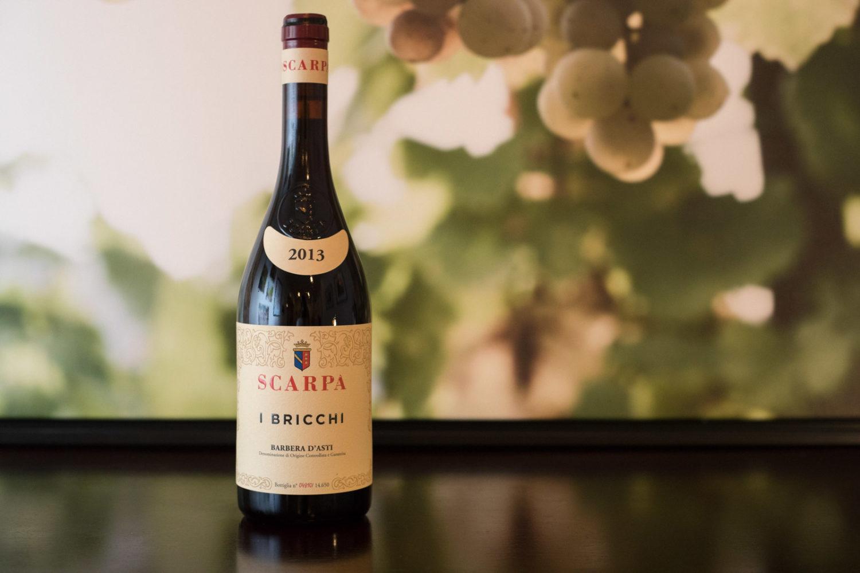 2013 Scarpa I Bricchi Barbera d'Asti ©Kevin Day/Opening a Bottle