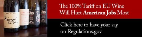 100% Tariff on European Wine Hurts American Jobs