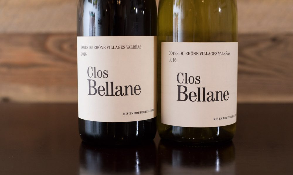 Two wines from Clos Bellane. ©Kevin Day/Opening a Bottle