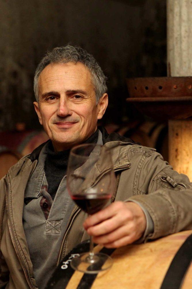 Winemaker Stephane Vedeau of Clos Bellane. ©Skurnik Wines
