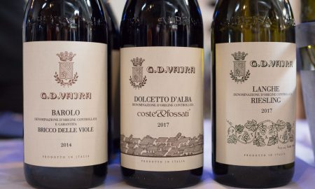 The wines of GD Vajra. ©Kevin Day/Opening a Bottle