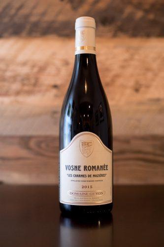 """2015 Domaine Guyon Vosne-Romanée """"Les Charmes de Mazières"""" ©Kevin Day/Opening a Bottle"""