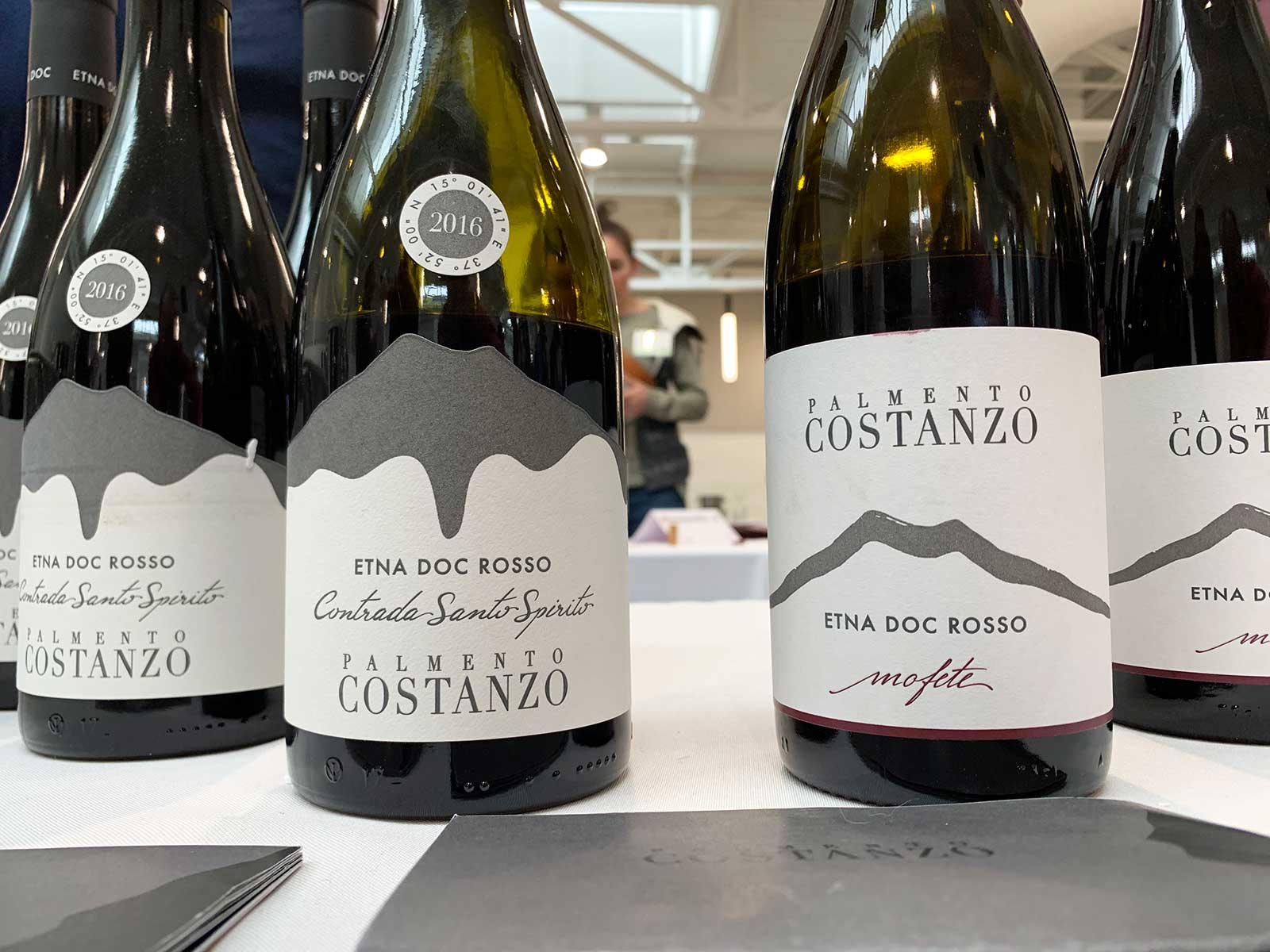 Palmento Costanzo was a new producer to me, and I'm glad I got to sample their smoky, scintillating wines. ©Kevin Day/Opening a Bottle