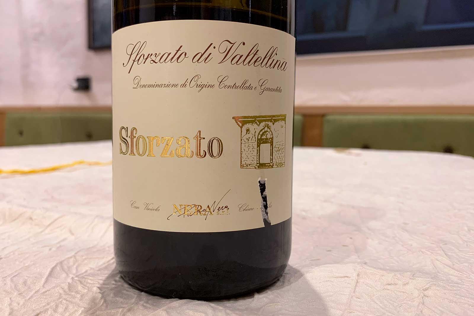 2009 Pietro Nera Sforzato di Valtellina ©Kevin Day/Opening a Bottle