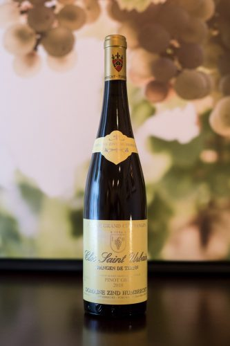 2010 Domaine Zind-Humbrecht Clos Saint-Urbain Alsace Grand Cru Rangen de Thann Pinot Gris ©Kevin Day/Opening a Bottle