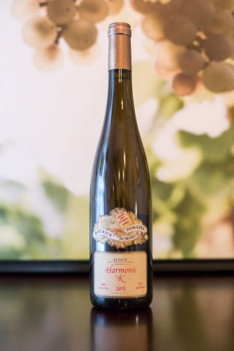 """2015 Domaine Maurice Schoech Harmonie """"R"""" Alsace ©Kevin Day/Opening a Bottle"""