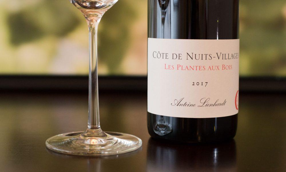 """2017 Antoine Lienhardt """"Les Plantes Aux Bois"""" Côte de Nuits-Villages ©Kevin Day/Opening a Bottle"""