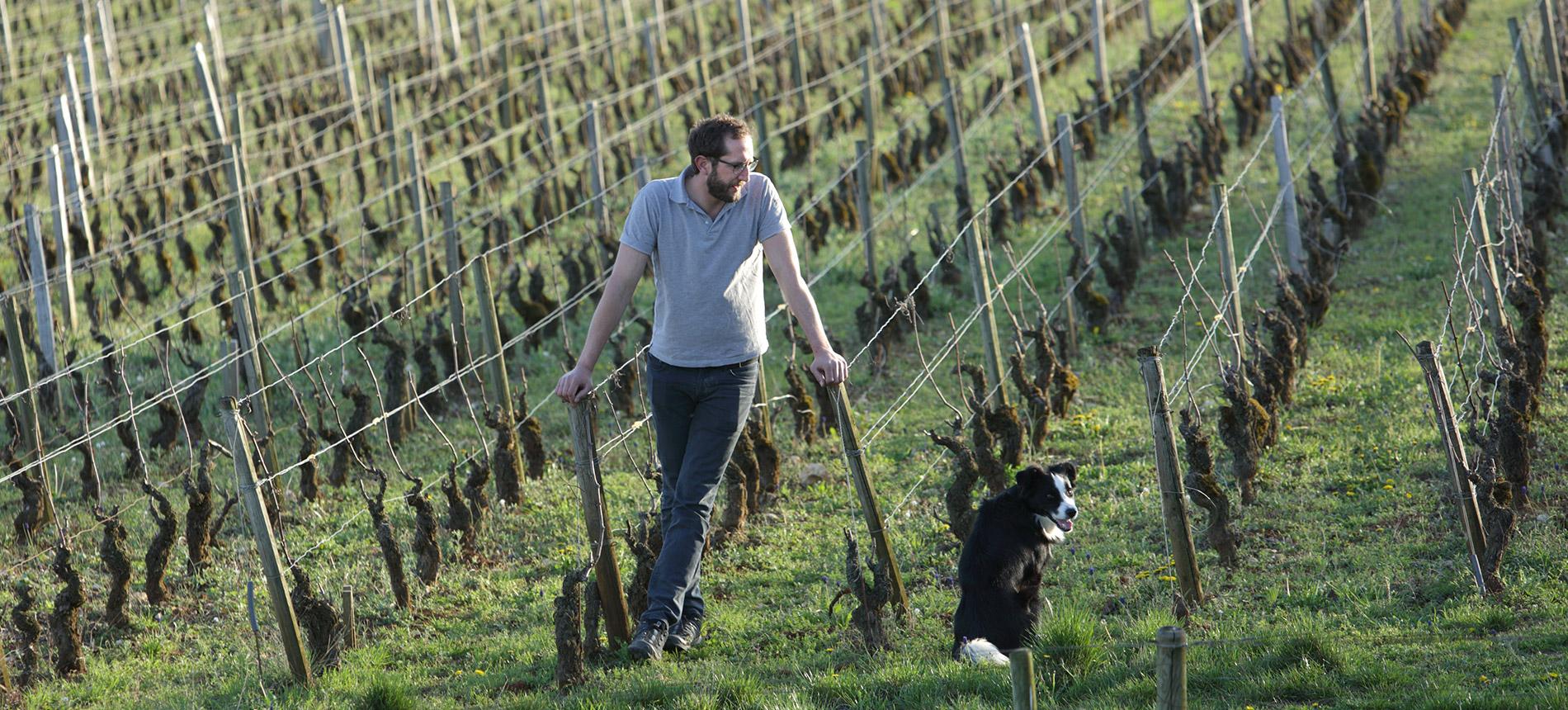 Winemaker Antoine Lienhardt ©Clay McLachlan of Claypix