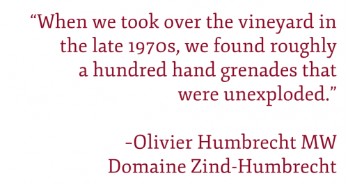 "Pullquote: ""When we took over the vineyard in the late 1970s, we found roughly 