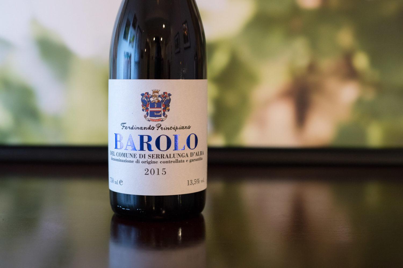 2015 Ferdinando Principiano Barolo del Comune di Serralunga d'Alba ©Kevin Day/Opening a Bottle