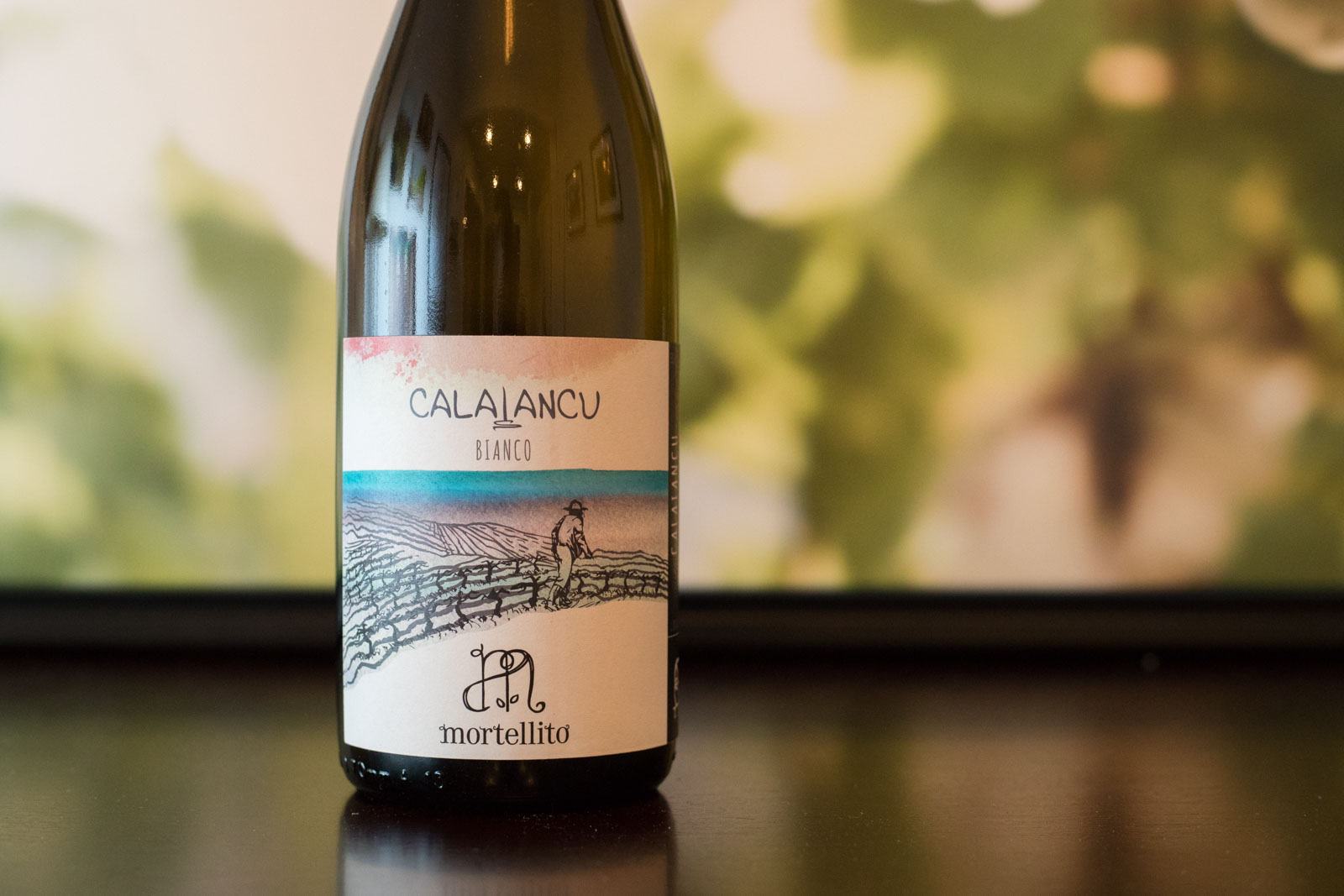 "2018 Mortellito ""Calalancua"" Bianco. ©Kevin Day/Opening a Bottle"