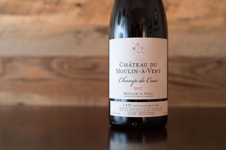 2017 Château du Moulin-à-Vent Champ de Cour Moulin-à-Vent ©Kevin Day/Opening a Bottle
